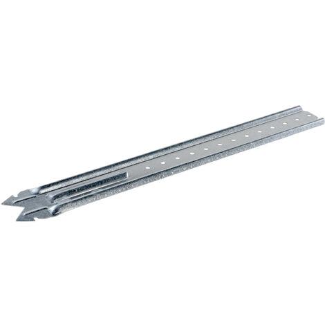 Suspente acier galvanisé pour fourrures type 18/45