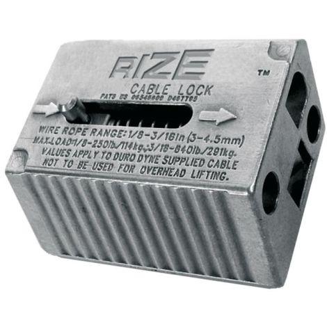 Suspente de câble acier 7T 7F Ø 2mm longueur 10m avec boucle et système de blocage Wireclip