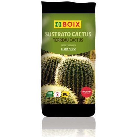 Sustrato Cactus BOIX 20 L