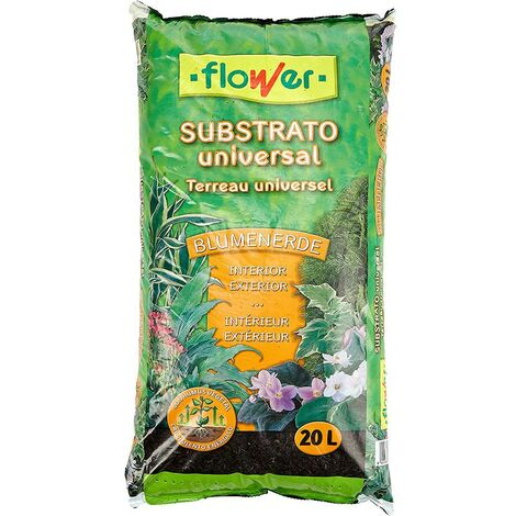 Sustrato Cultivo Universal 20 Lt Flower Blumerende