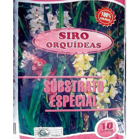 Sustrato Especial Orquideas. 100% Ecológico. Envase 10 Litros