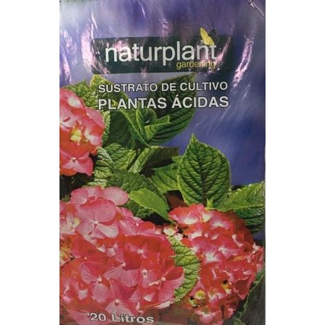 SUSTRATO PLANTAS ACIDAS 20 L - NATURPLANT