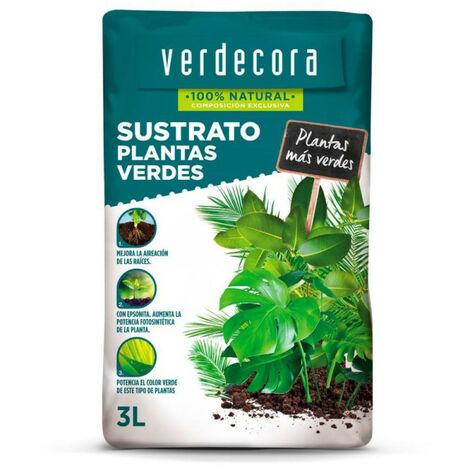 SUSTRATO PLANTAS VERDES VERDECORA