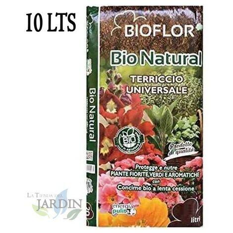 Sustrato Universal turba Bioflor 10 Litros
