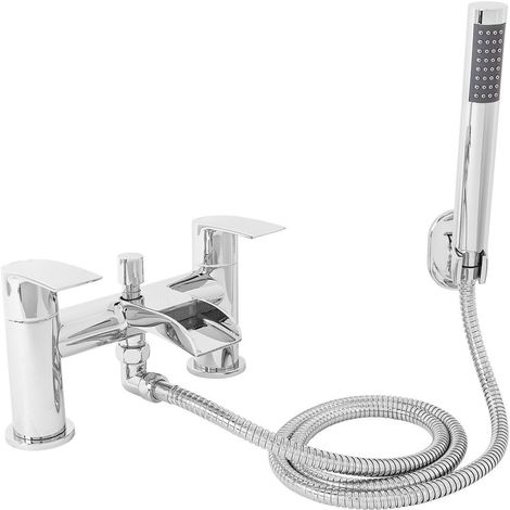 Suva Waterfall Bath Shower Mixer Tap with Kit