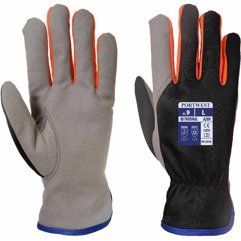 sUw - 12 Pair Pack Hand Protection Wintershield Thermal Glove