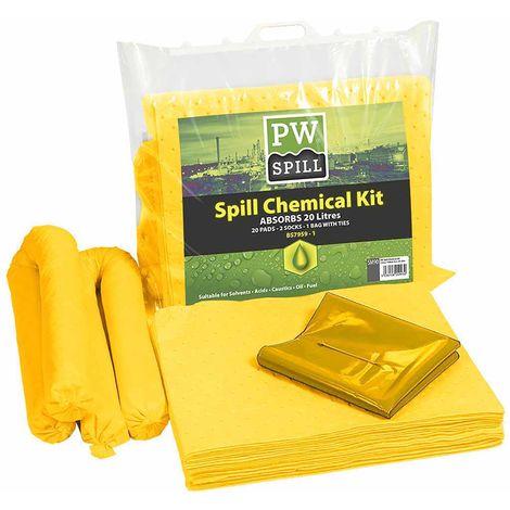 sUw - 20 Litre Chemical Kit Yellow Regular