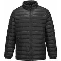 sUw - Aspen Quilted Thermal Winter Jacket Black XXX-Large