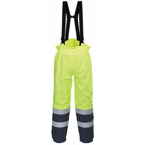 sUw - Bizflame Flame Resistant Multi Arc Hi-Vis Safety Workwear Trouser