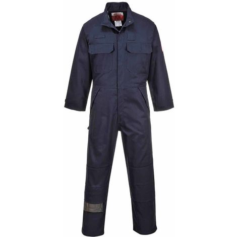 sUw - Bizflame Flame Resistant Safety Workwear Multi-Norm Coverall Boilersuit