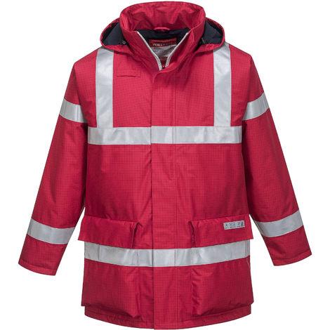 sUw - Bizflame Rain Anti-Static FR Safety Workwear Jacket