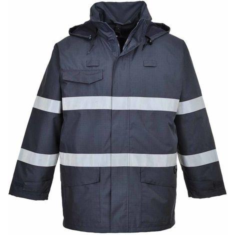 sUw - Bizflame Rain Multipurpose Protective Jacket With Pack Away Hood