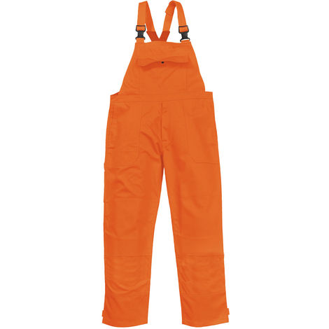 sUw - Bizweld Flame Resistant Safety Workwear Bib and Brace Dungarees