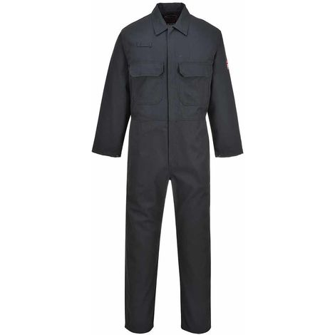 sUw - Bizweld Flame Resistant Safety Workwear Coverall Boilersuit