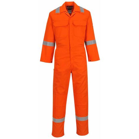 sUw - Bizweld Flame Resistant Safety Workwear Iona Coverall Boilersuit