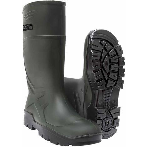sUw - Breathable PU Tough Work Wellington Boot O4 CI FO