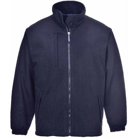 sUw - BuildTex Workwear Laminated Showerproof Anti Pill Fleece Jacket