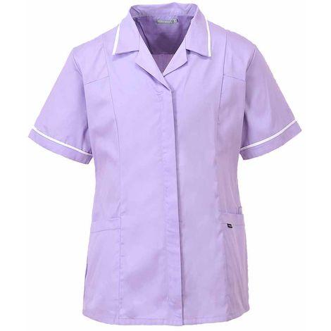 sUw - Classic Heath Care Workwear Tunic Jacket Top