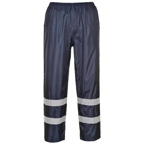 sUw - Classic Iona Reflective Workwear Rain Trousers