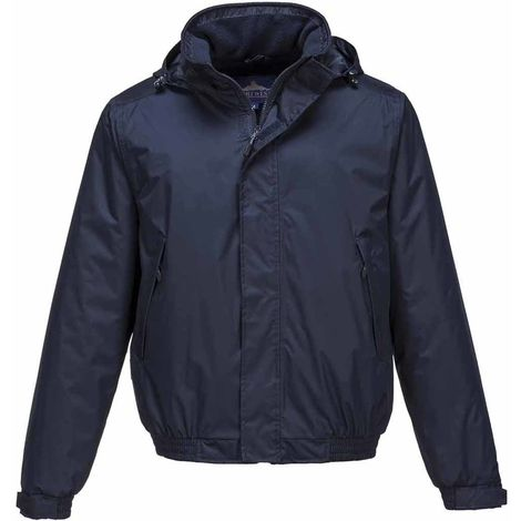 sUw - Crux Insulated Waterproof Bomber Jacket With Pack Away Hood