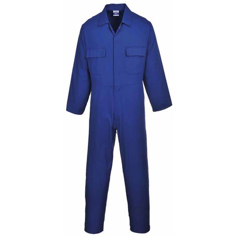 sUw - Euro Workwear 100% Cotton Coverall With 5 Convenient Pockets