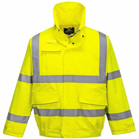sUw - Extreme Hi-Vis Safety Workwear Bomber Jacket
