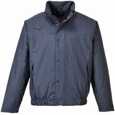 sUw - Falkirk Lined Waterproof Bomber Jacket With Elasticated Waist