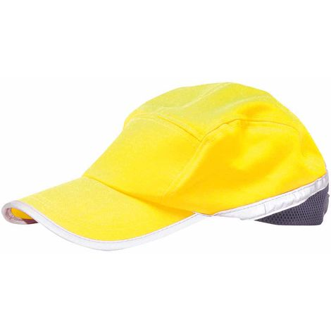 sUw - Hi-Vis Baseball Cap Yellow/Navy Regular