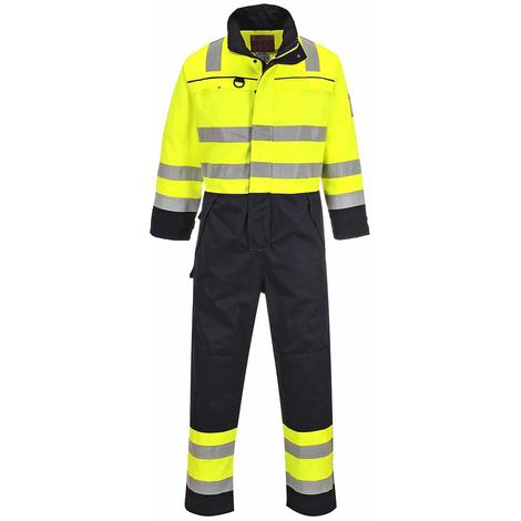 sUw - Hi-Vis Flame Resistant Workwear Multi-Norm Coverall Boilersuit