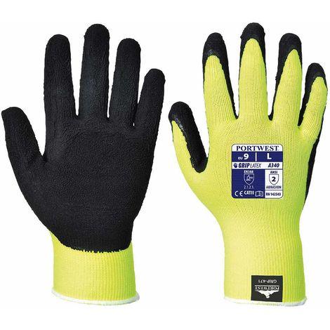 sUw - Hi-Vis Grip Glove (6 Pair Pack)