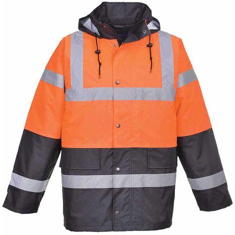 sUw - Hi-Vis Safety Two Tone Traffic Workwear Jacket
