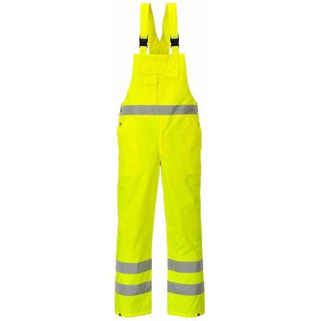 sUw - Hi-Vis Safety Workwear Bib & Brace Dungaree- Unlined