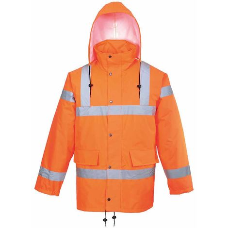 sUw - Hi-Vis Safety Workwear Breathable Track Side Jacket RIS