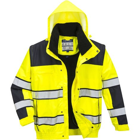 sUw - HI-Vis Safety Workwear Classic Bomber Jacket
