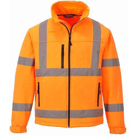 sUw - Hi-Vis Safety Workwear Classic Softshell Jacket (3L)