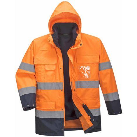 sUw - Hi-Vis Safety Workwear Lite 3 in 1 Jacket