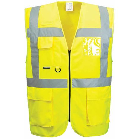 sUw - HI-Vis Safety Workwear Vest-Port Thermal Waistcoat