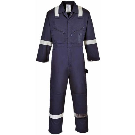sUw - Iona Cotton Safety Workwear Coverall Boilersuit