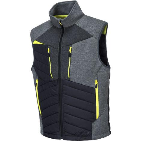 sUw Mens 4 Way Stretch Fabric DX4 Baffle Gilet Jacket