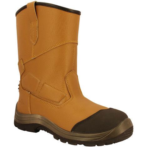 sUw - Mens Steelite Rigger Heat Resistant Pro Ankle Boots