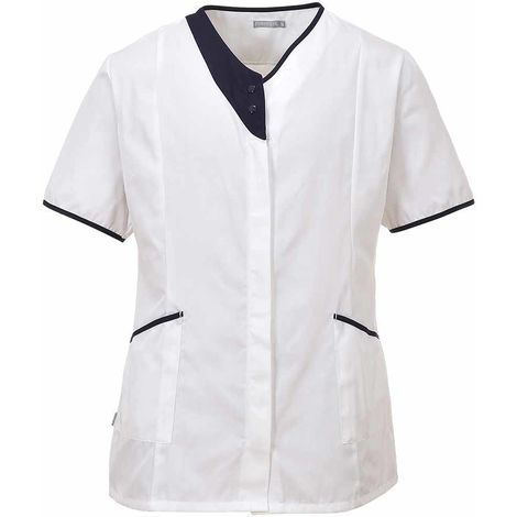 sUw - Modern Heath Care Workwear Tunic Jacket Top