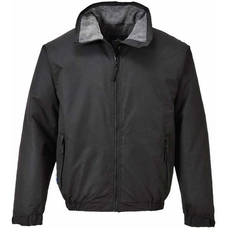 sUw - Moray Fleece Lined Contemporary Styled Weatherproof Bomber Jacket
