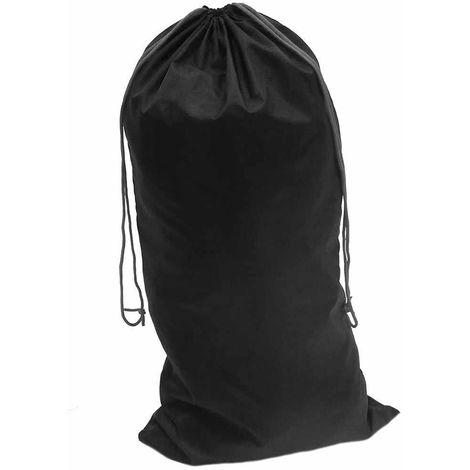 sUw - Nylon Drawstring Bag Black Regular