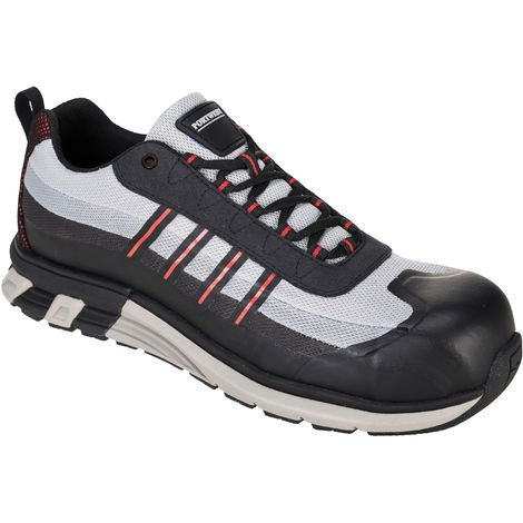 sUw - OlymFlex London Safety Footwear Trainer Shoe S1P