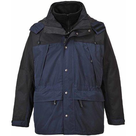 sUw - Orkney 3 in 1 Two-Tone Breathable Waterproof Jacket With Hood