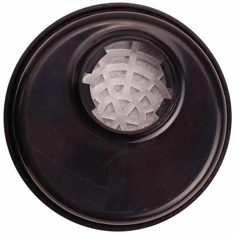sUw - Pack of 6 Class ABEK1 Respirator Gas Filters Bayonet Connection, Brown, Regular,