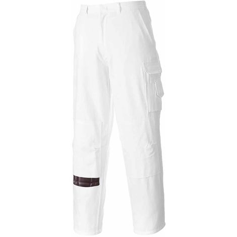 sUw - Painters Durable Workwear Absorbent 100% Cotton Cargo Trouser