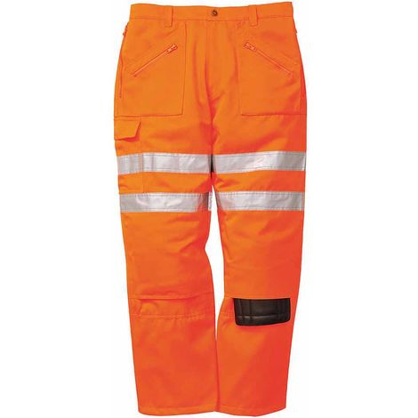 sUw - Rail Hi-Vis Safety Workwear Rail Track Side Action Trousers
