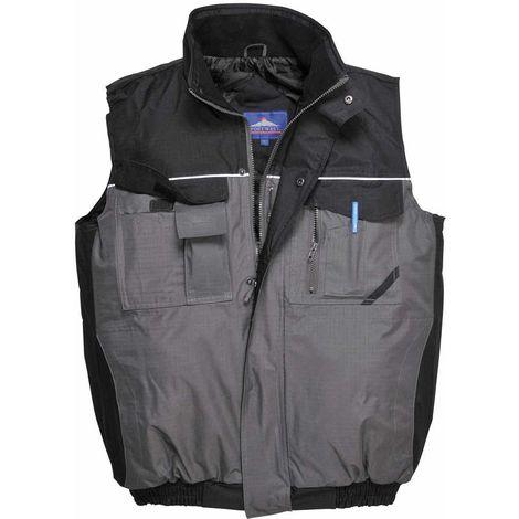 sUw - RS Two-Tone Uniform Workwear Padded Durable Waterproof Bodywarmer