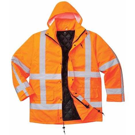 sUw - RWS Hi-Vis Safety Workwear Traffic Jacket